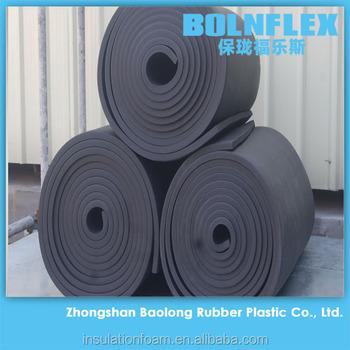 Rubber foam thermal insulation board cheap price rubber for Quick therm insulation cost
