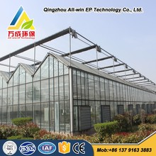 Modern Commercial Restaurant Glass Greenhouse for sale