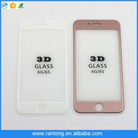 Hot promotion simple design 3d 9h cell phone display tempered glass screen protector with good offer