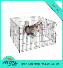 Foldable Customized Metal Powder Coated Animal Dog Pet Cage