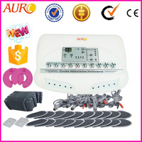 L: (Au-6804) Professional slim fit ems Electric fat loss ems muscle stimulator Equipment for home use