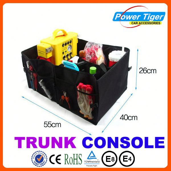 Top selling Big Capacity Folding auto console organizer