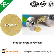 adhesives/glues ingredients,high quality industrial grade gelatin