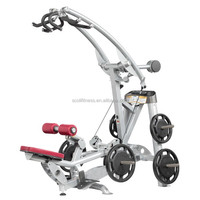 Hoist Gym plated loaded Fitness equipment /Gym Machine / Lat Pull Down
