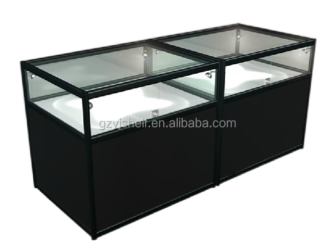 Superbe Modern Showcase Shot Glass Display Cabinet, Portable Glass Kiosk, Glass  Shop Counter, Wooden