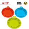 ShenZhen Supplier Food Grade Silicone Collapsible Dog Bowl