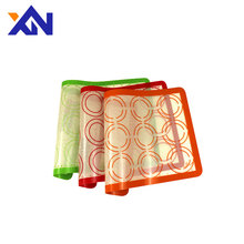 Quality Assurance silicone macaron baking mat sheet large silicon mould