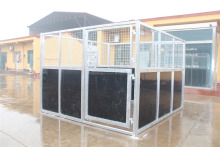 China Factory Supplier HDPE Infilled Used Horse Steel Indoor Stalls