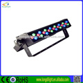 Longdi light factory wholesale CE 24*1W RGB DMX 18W wall washer led