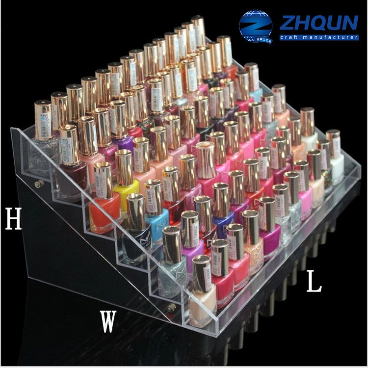 36 bottles clear acrylic lipstik makeup organizer display <strong>stand</strong>
