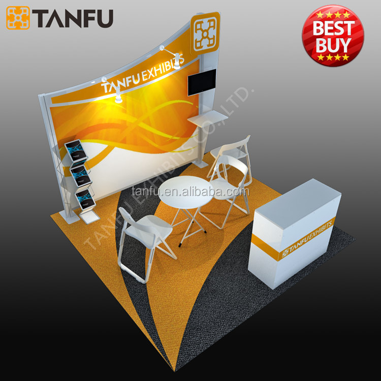 TANFU Quick Install 10x10 Trade <strong>Show</strong> Display Booth