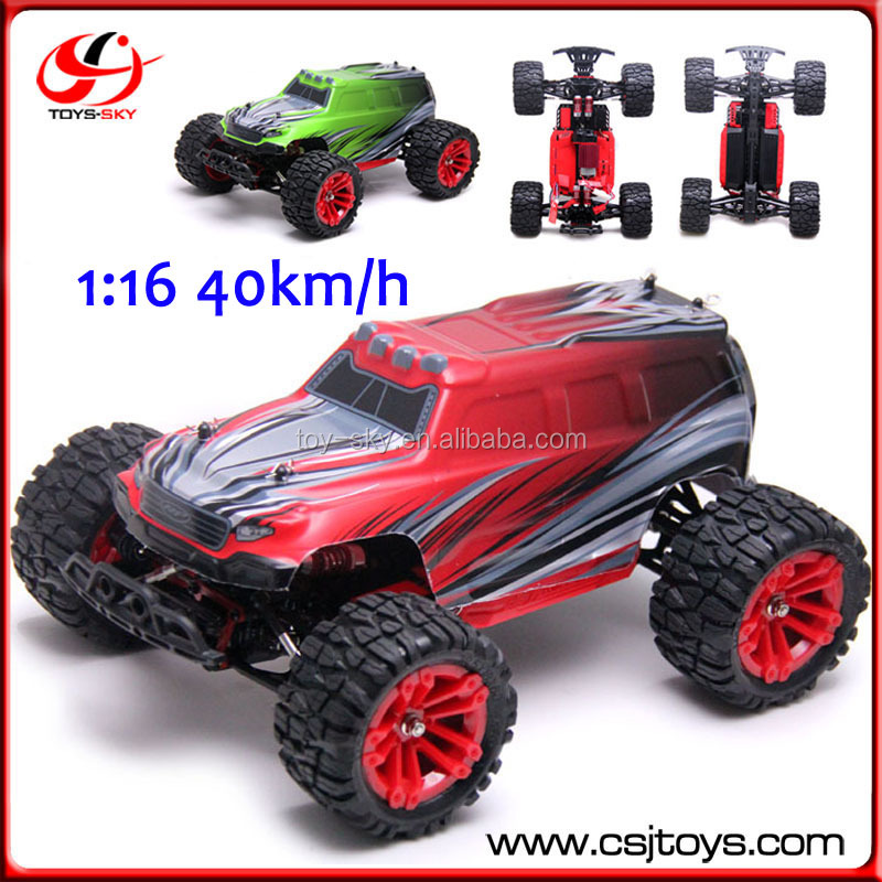 4WD Remote <strong>Model</strong> Car Cross Country 2.4G Monster Truck RC Buggy Toys 40km/h Electric Car 1:16