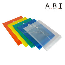 Office stationery file folder / clear plastic document holder / plastic file folder