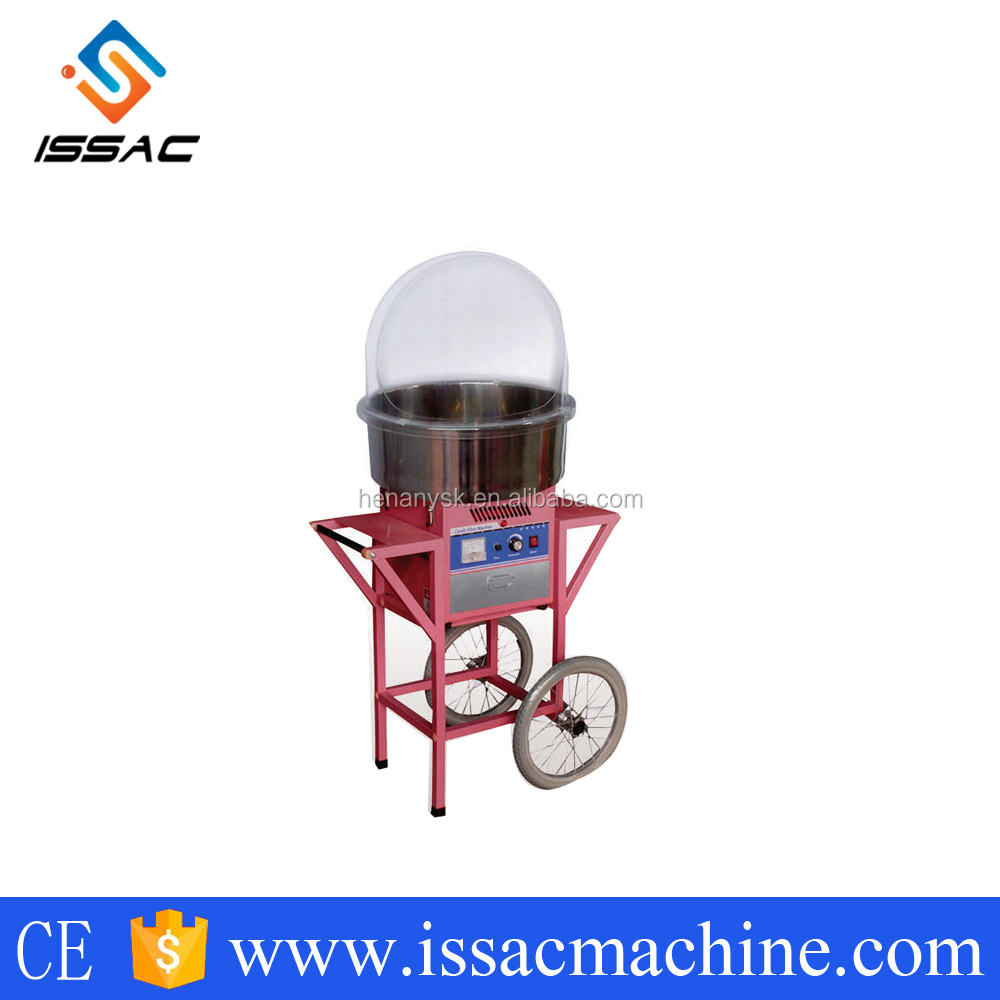 IS-MJ500 durable high quality commercial used automatic cotton candy floss making machine for factory