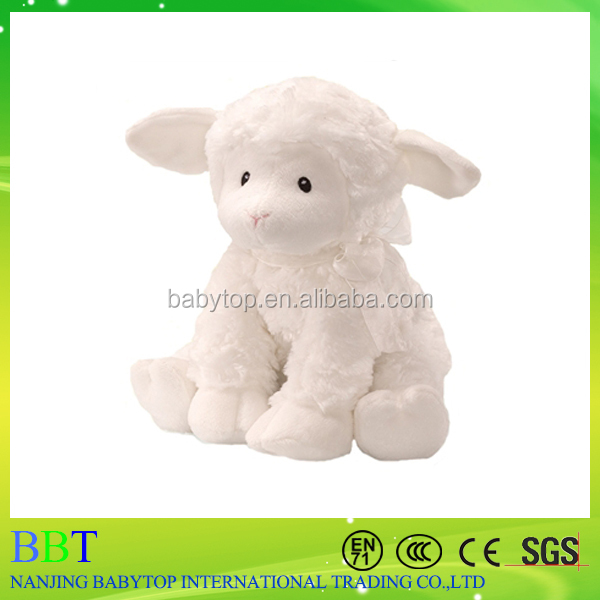 OEM stuffed toy plush south korea fabric sitting sheep animal toy