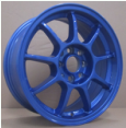 Blue 15*6.5 Save Fuel Aluminum Alloy Wheel Scrap