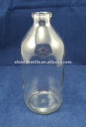 500ml pharmaceutical glass bottle for infusion