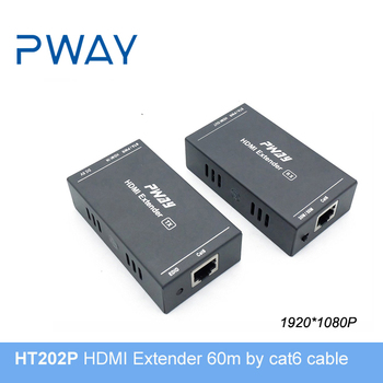 1080P HDMI Extender 60 meters by cat6 cable
