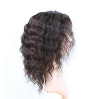 Best Wig Store Dreadlock Cheap Long Lace Front Black Wet Curly Water Wave Wigs Hairpiece