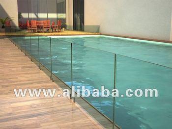 12 mm en verre tremp cl tures de piscine buy product on. Black Bedroom Furniture Sets. Home Design Ideas