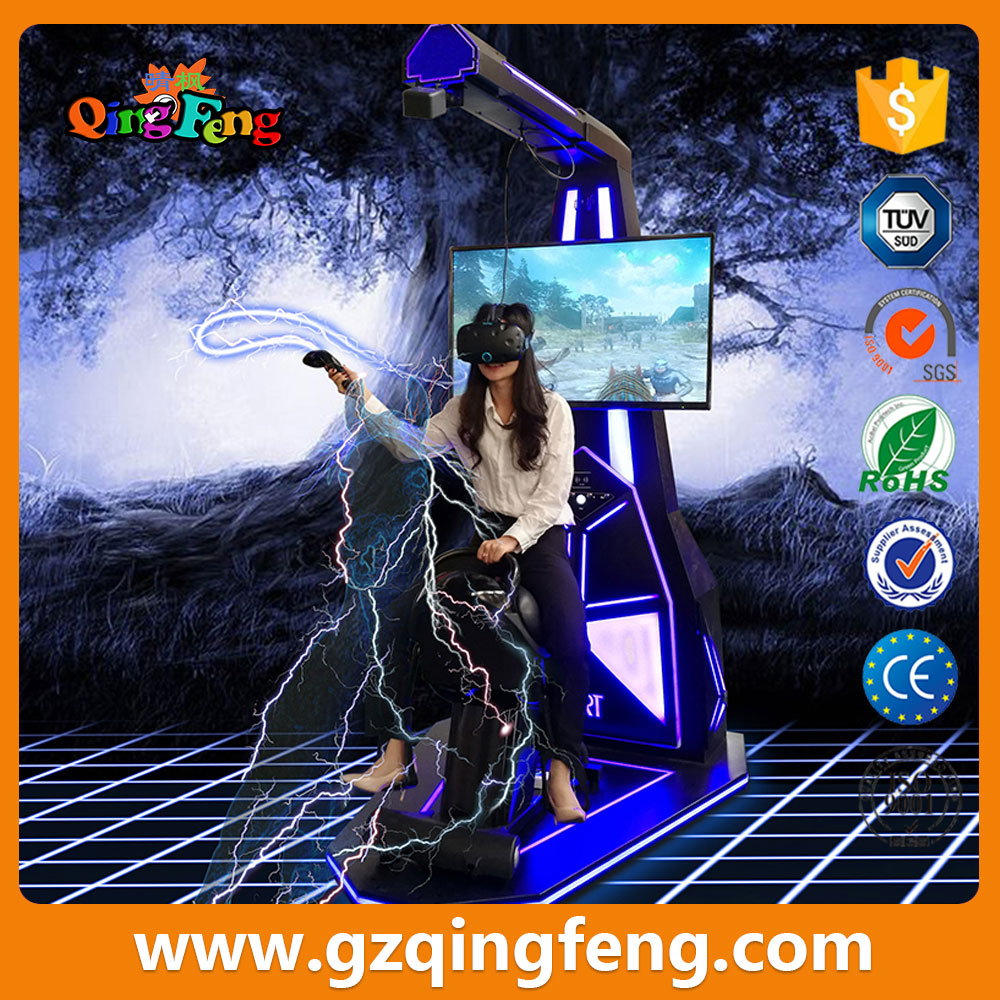 Qingfeng high quality HTC vive VR virtual reality simulator horse ride game console