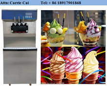supermarket refrigeration equipment batch freezer soft ice cream machine