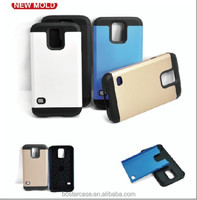 Two in one phone case for Samsung Galaxy S5 case