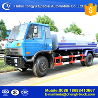 Japan technology 4x2 12000L stainless steel water tank truck good quality hot sale in China ,manufacture