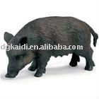 Realistic plastic farm animal toy