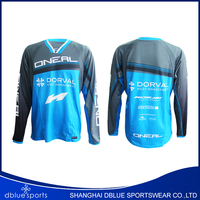 2016 Motocross jersey bike clothing downhill MTB shirts