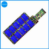 Folding amorphous solar charger, 0.5 kw solar panel