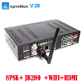 2016 high quality FTA high definition digital TV box Jynxbox V30 with wifi iks free for North America