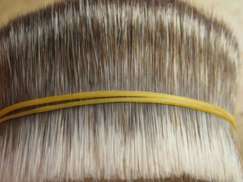 Imitation mongoose bristle for facial brush