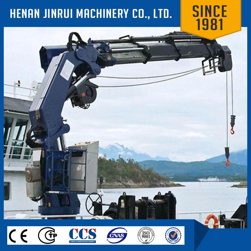 Used Deck Cranes For Sale/ Knuckle Boom Deck Crane