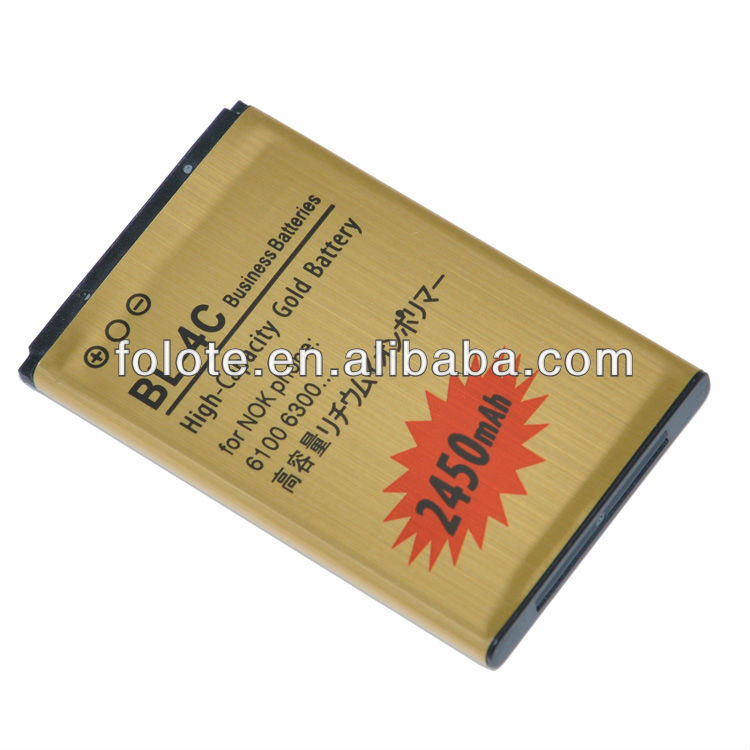 2450mAh li-ion battery BL-4C battery For Nokia BL 4C C2-05 2220 6100 6300