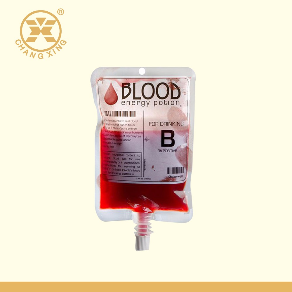 Aseptic Transparent Blood Collection Transfusion Bag