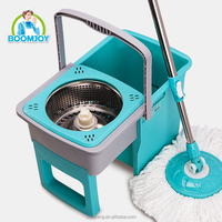 Boomjoy HST-01J Foldable Spin Mop 360 Magic Cleaning Mop
