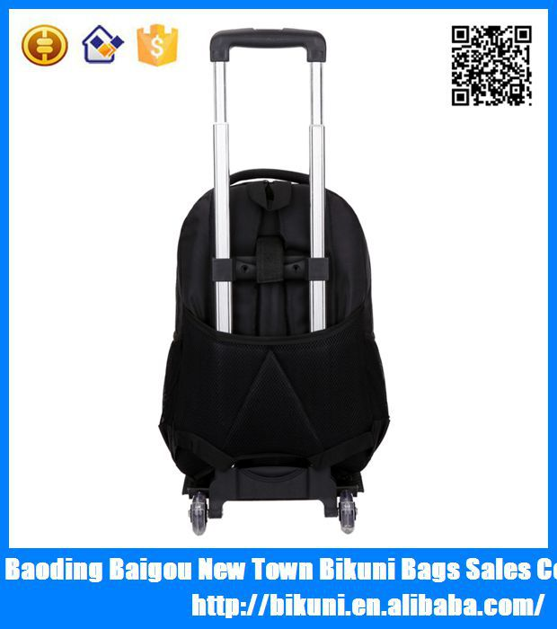 2015 hot selling high quality men's business backpack trolley luggage bag, laptop backpack