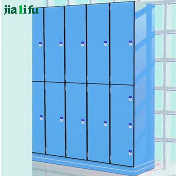 High security industrial 2 door storage lockers