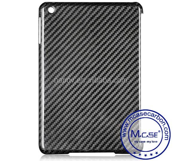 2016 Hot Selling Fashion Carbon Fiber Tablet Case Cover For iPad Mini 3