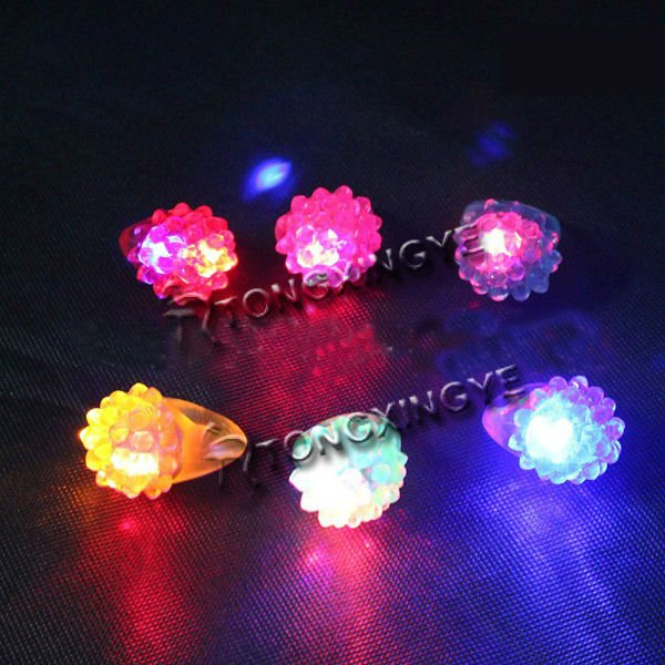 Led Ring Tube Light, Fantasy Christmas Jewelry for Girls