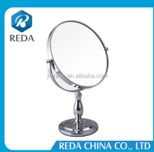 Shaving Magnifying Standing Table Make up Mirror chrome