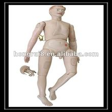 ISO Advanced High Quality Nursing Care Doll, Male Nursing Training Manikin