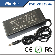 12v 4a Ac Adapter For LCD 48W 5.5*2.5MM With 3prong