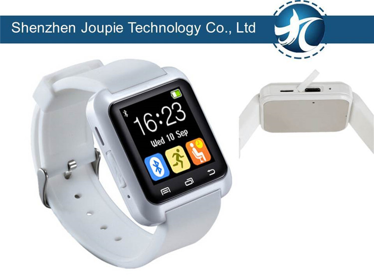 Joupie-U8 Brand new cheap smart watch bluetooth phone made in China, in stock smart watch