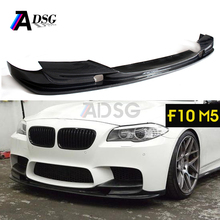 5 sereis f10 carbon fiber front lip for bmw m5 bumpers