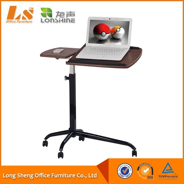 Portable Folding Laptop Table Desk Stand With Wheel - Buy Laptop Stand