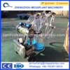 Double bucket electric cow milking machine for sale