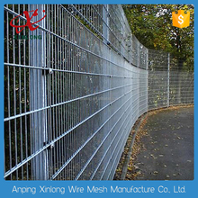 Pvc coated twin wire 868/656 fence panel/twin wire surround mesh