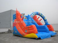 Funny manufacture inflatable water slide made in China Z3039